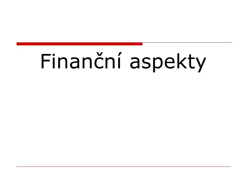 Finanční aspekty