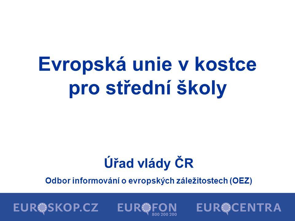 Evropská unie v kostce pro střední školy