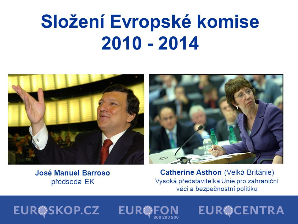 Složení Evropské komise 2010 - 2014