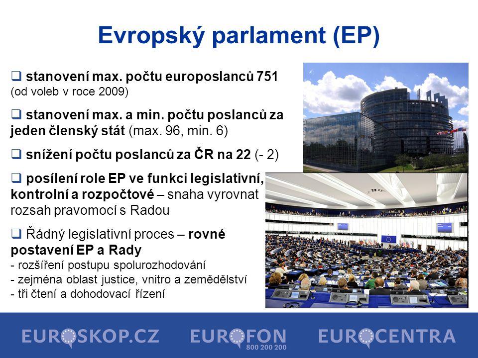 Evropský parlament (EP)