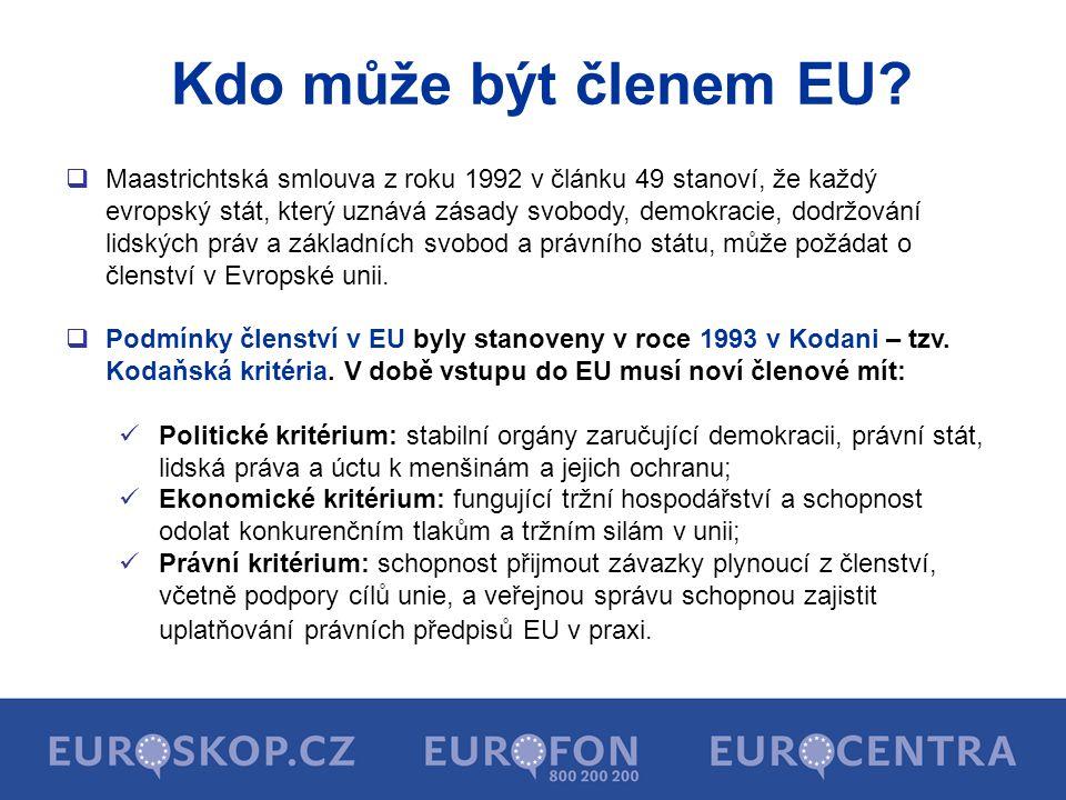 Kdo může být členem EU