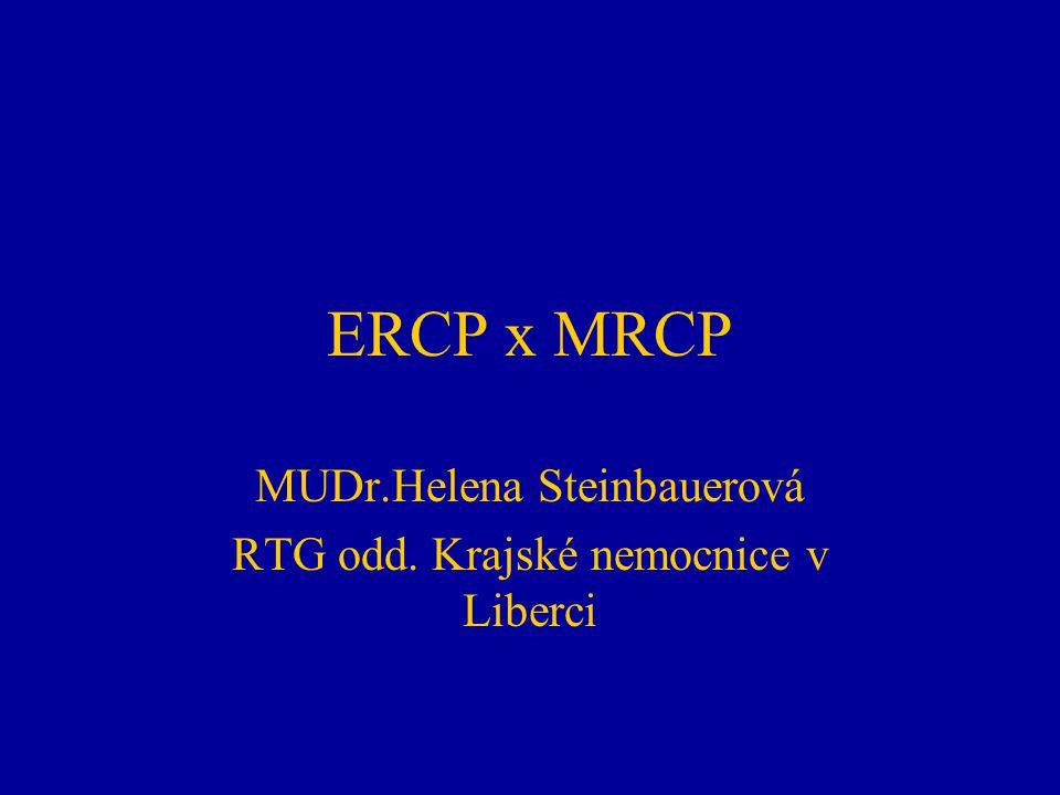 MUDr.Helena Steinbauerová RTG odd. Krajské nemocnice v Liberci