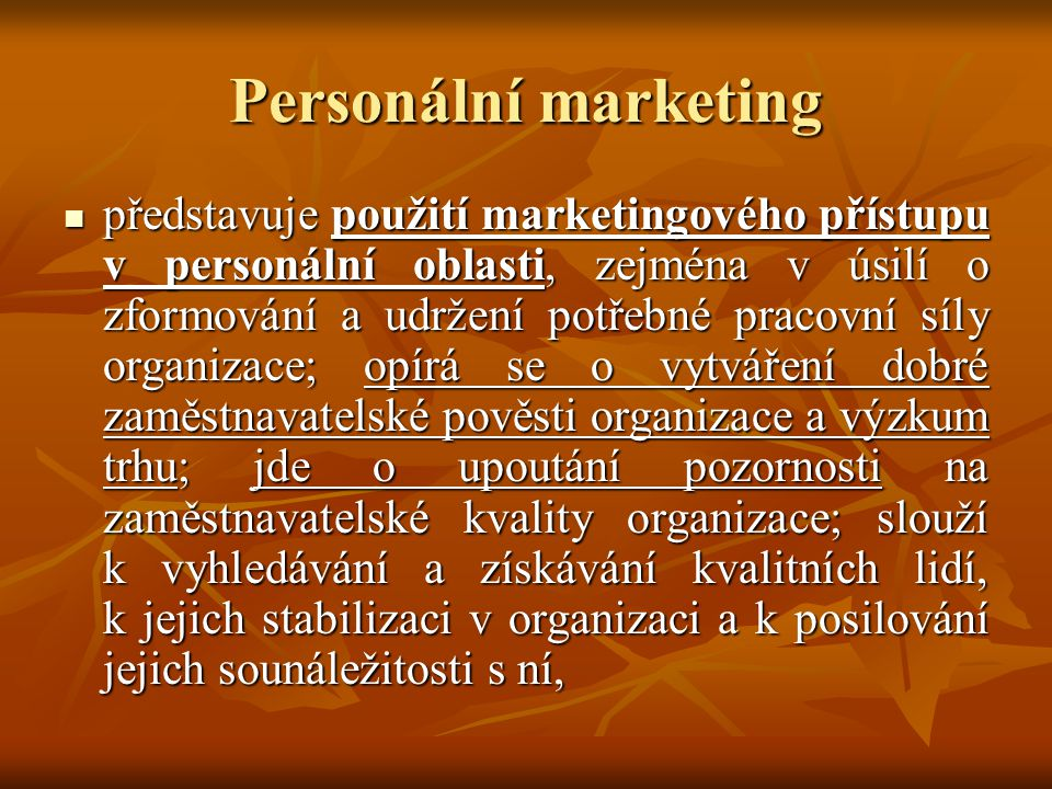 Personální marketing