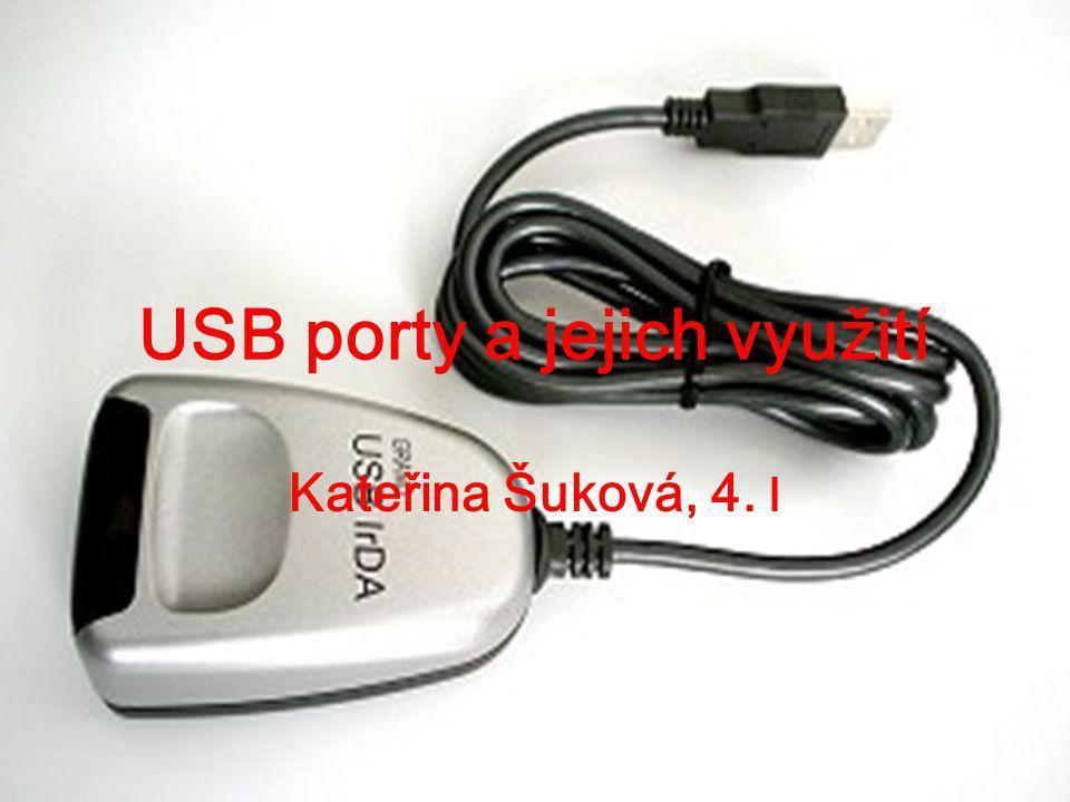 USB porty a jejich využití