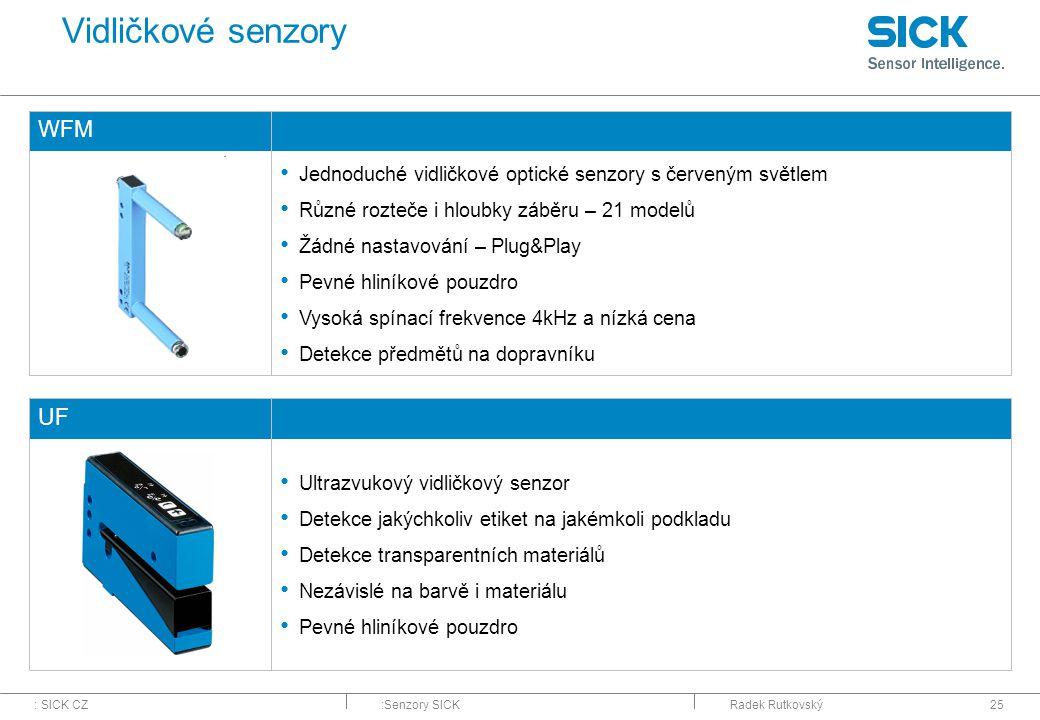 Vidličkové senzory WFM UF