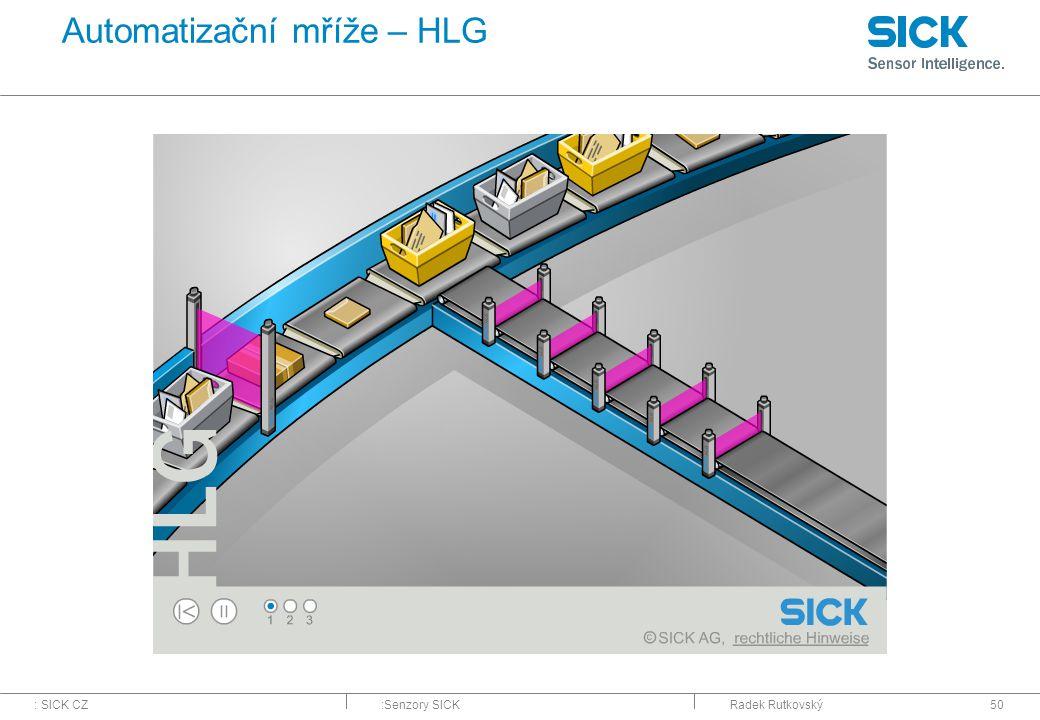 Automatizační mříže – HLG