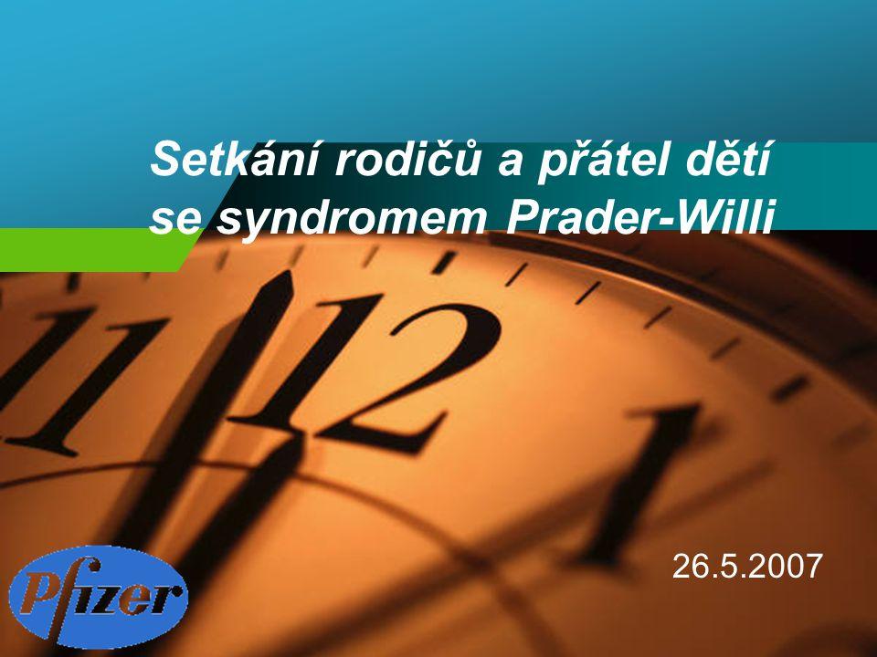 Setkání rodičů a přátel dětí se syndromem Prader-Willi