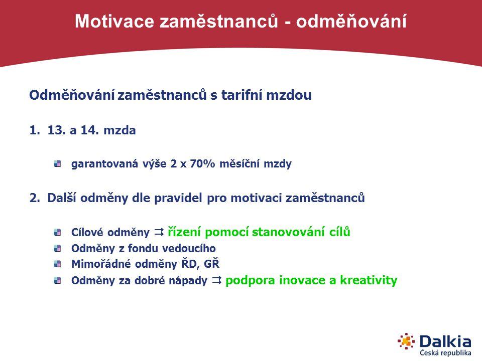 Motivace zaměstnanců - odměňování