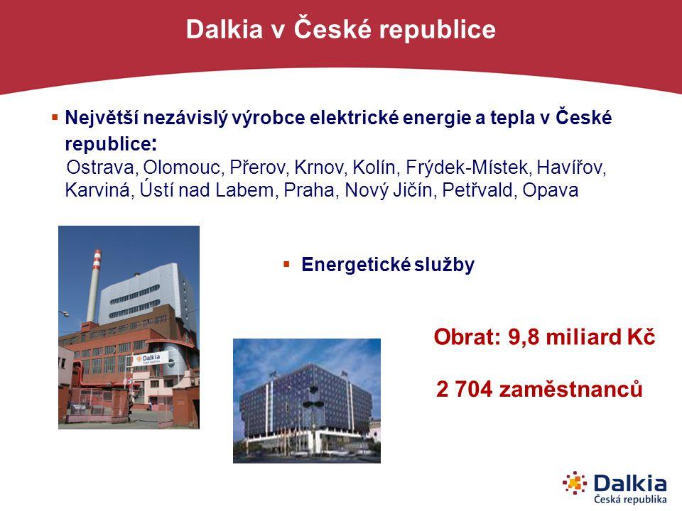 Dalkia v České republice