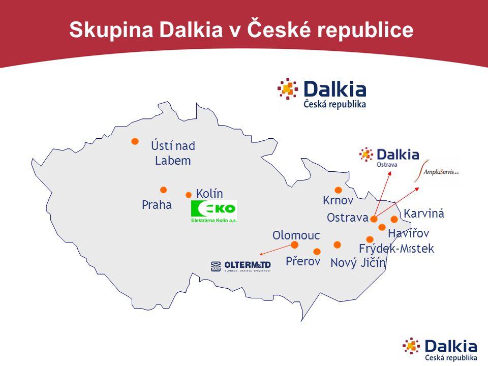 Skupina Dalkia v České republice