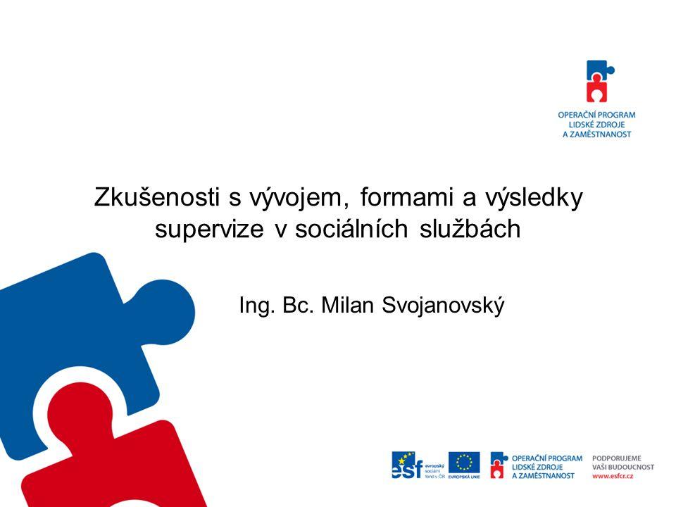 Ing. Bc. Milan Svojanovský