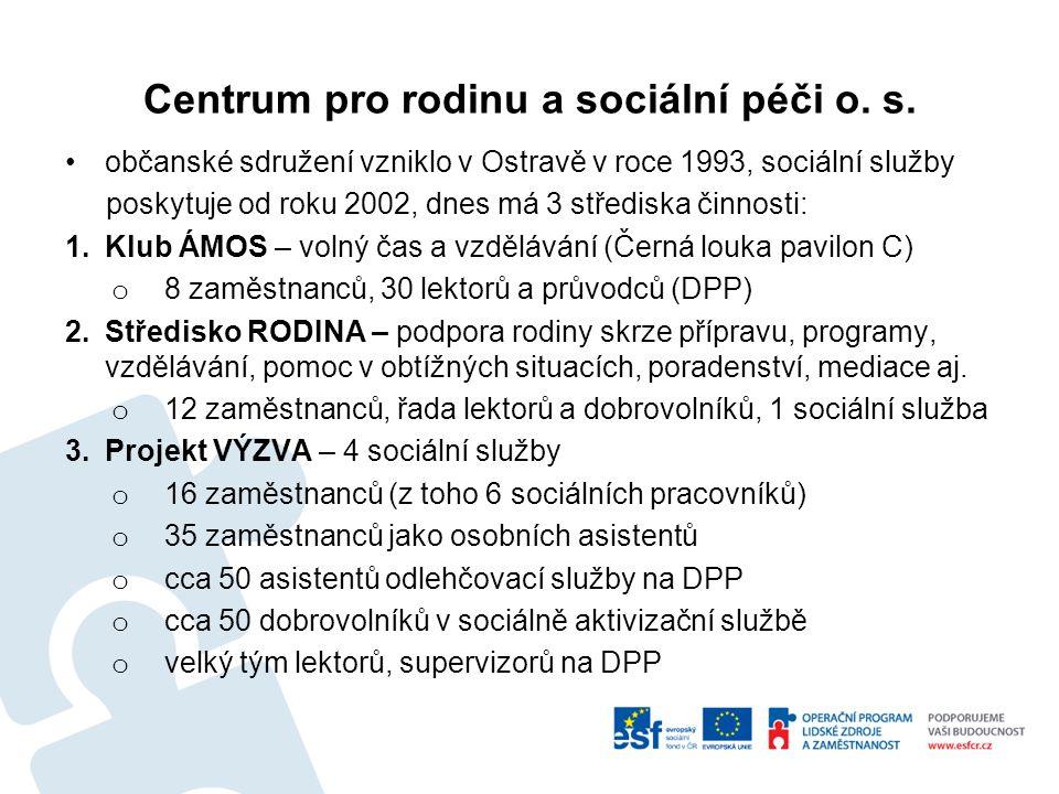 Centrum pro rodinu a sociální péči o. s.