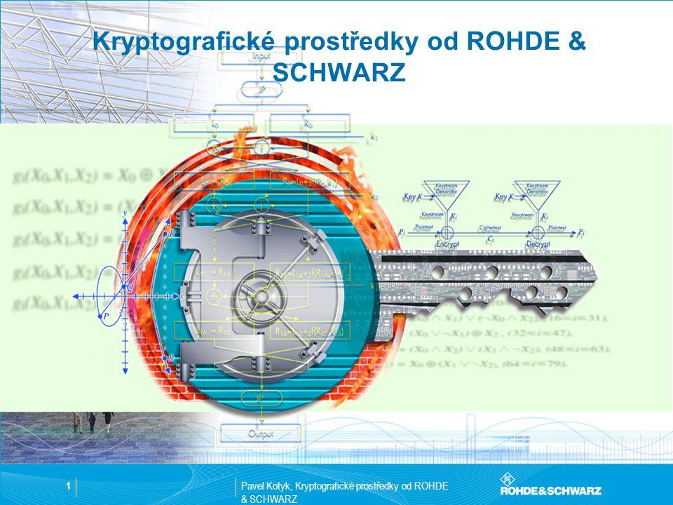 Kryptografické prostředky od ROHDE & SCHWARZ