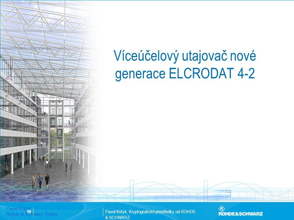 Víceúčelový utajovač nové generace ELCRODAT 4-2