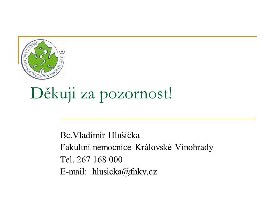 Děkuji za pozornost! Bc.Vladimír Hlušička
