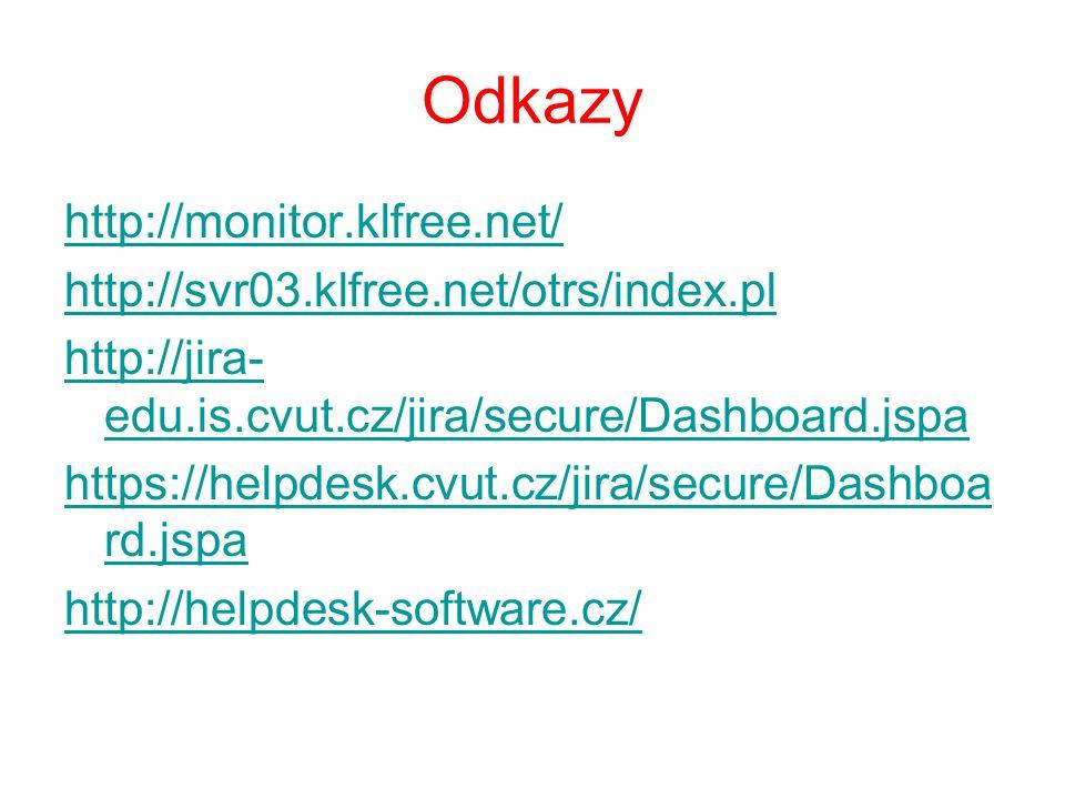 Odkazy http://monitor.klfree.net/