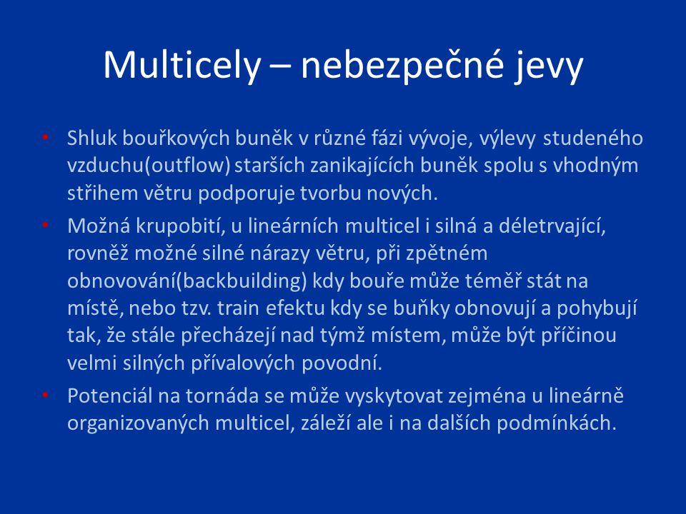 Multicely – nebezpečné jevy