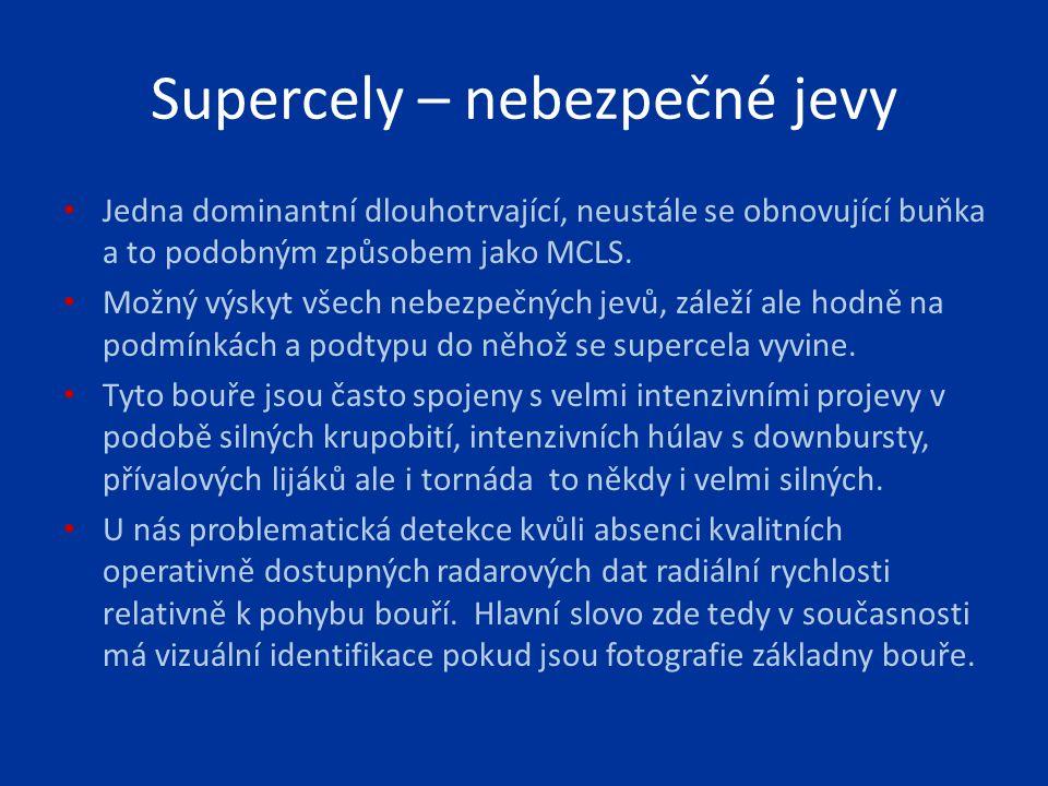 Supercely – nebezpečné jevy