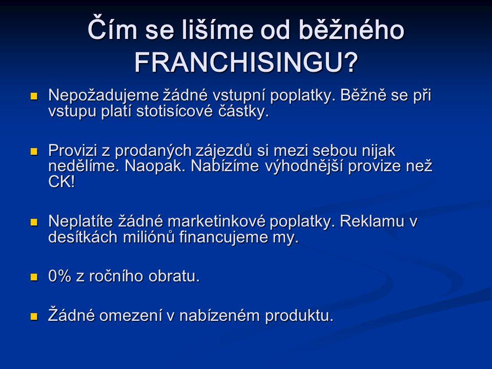 Čím se lišíme od běžného FRANCHISINGU