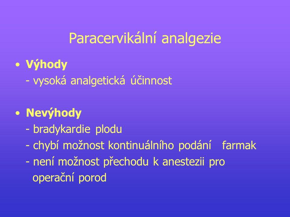 Paracervikální analgezie