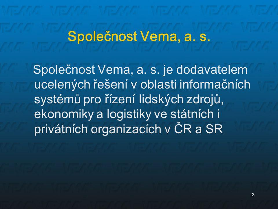 Společnost Vema, a. s.