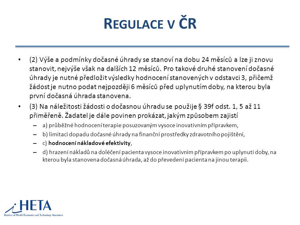 Regulace v ČR