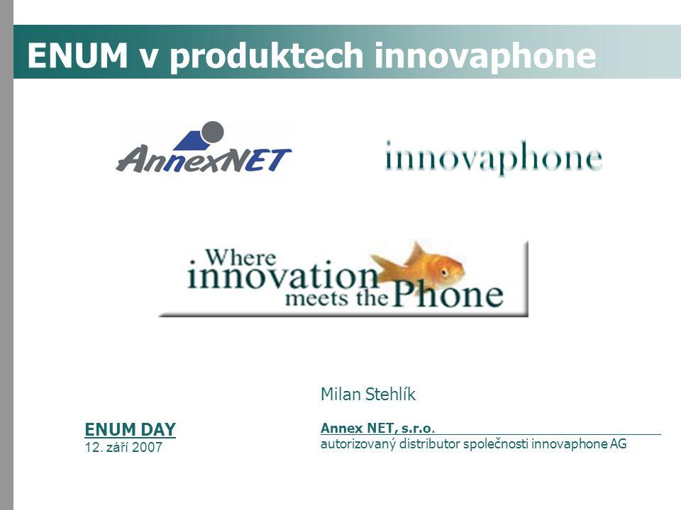 ENUM v produktech innovaphone