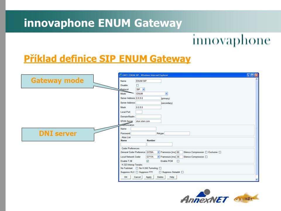 innovaphone ENUM Gateway