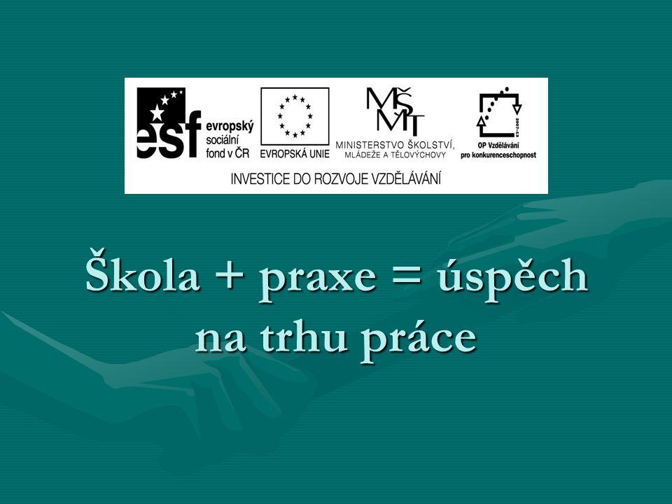 Škola + praxe = úspěch na trhu práce