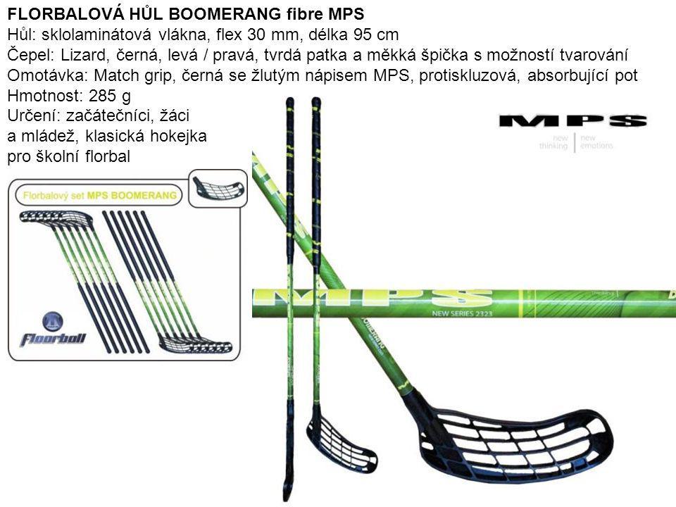FLORBALOVÁ HŮL BOOMERANG fibre MPS