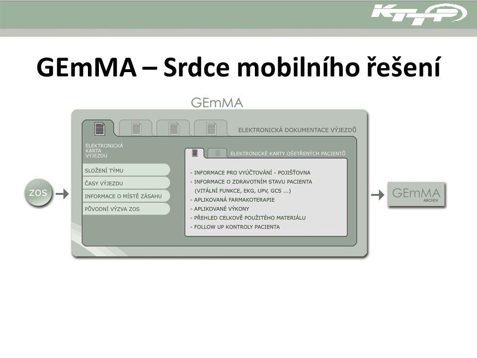 GEmMA – Srdce mobilního řešení