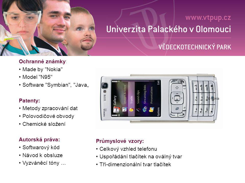 """Software Symbian , Java"""" Patenty: Metody zpracování dat"""