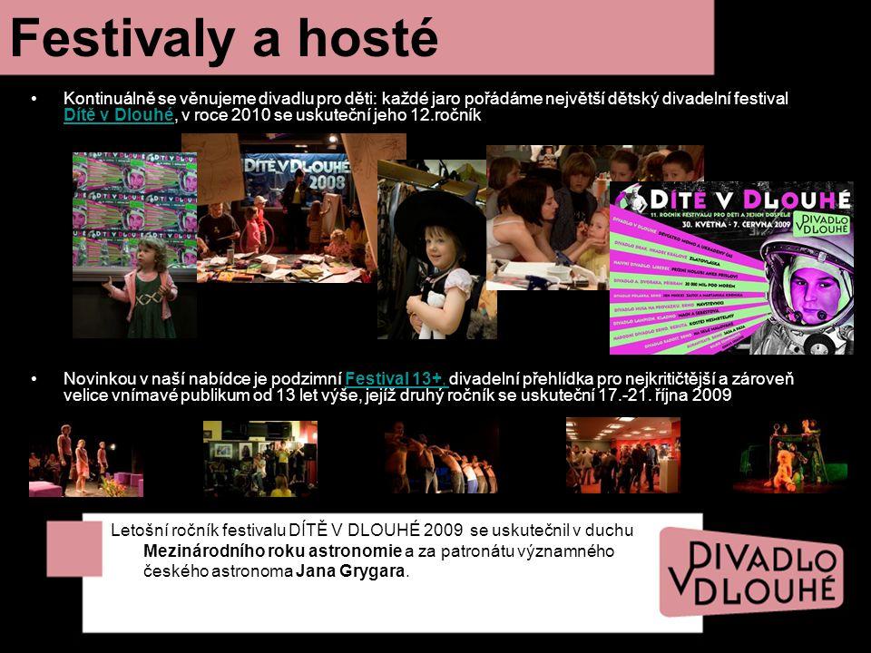 Festivaly a hosté