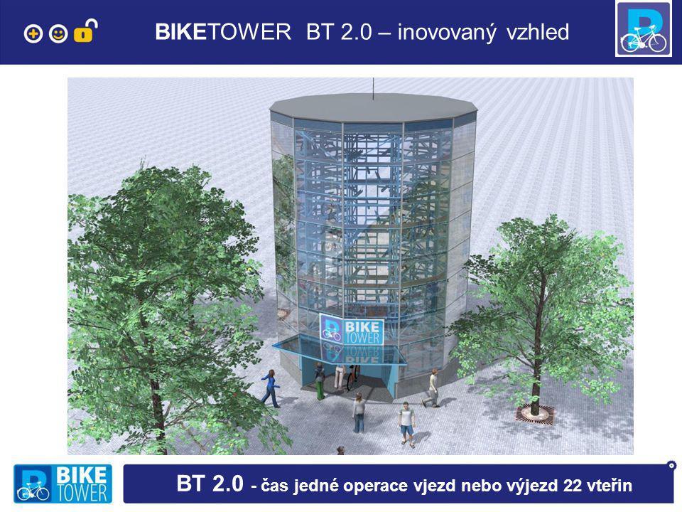 BIKETOWER BT 2.0 – inovovaný vzhled