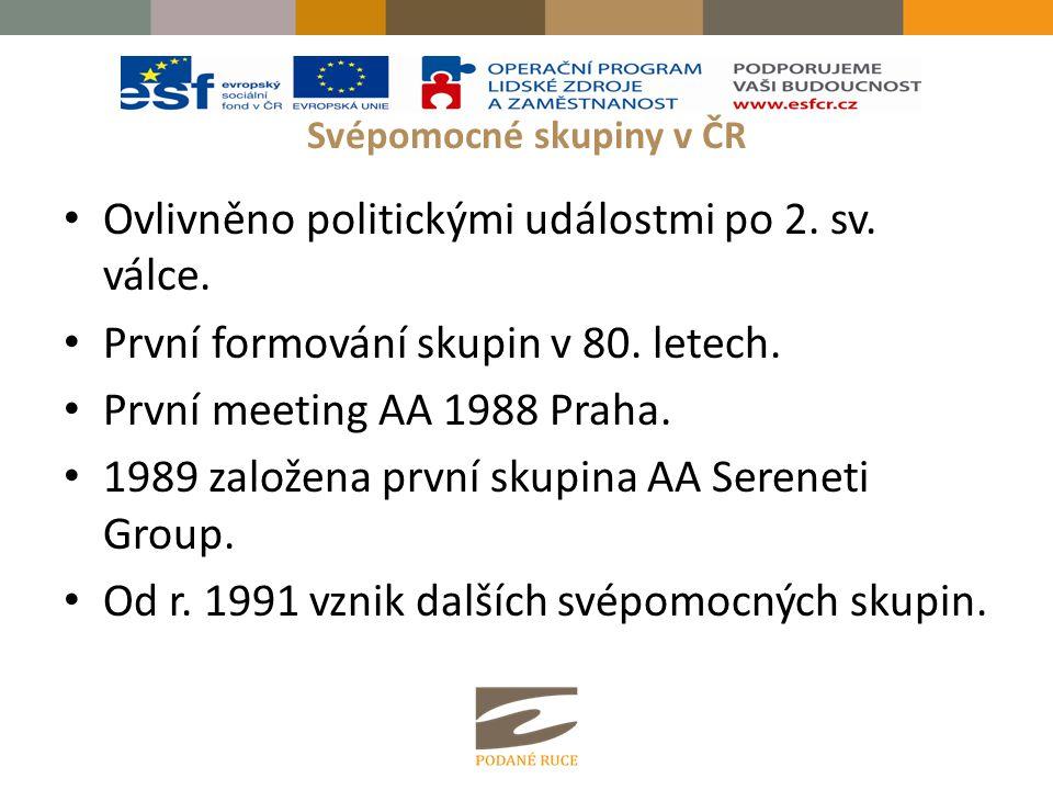 Svépomocné skupiny v ČR