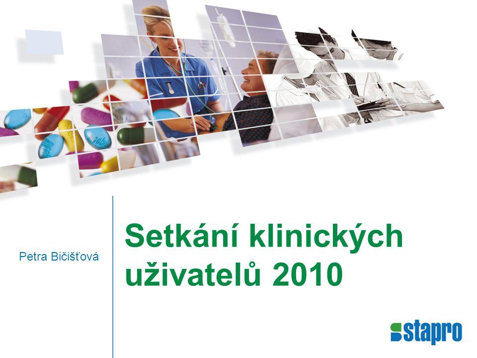Setkání klinických uživatelů 2010