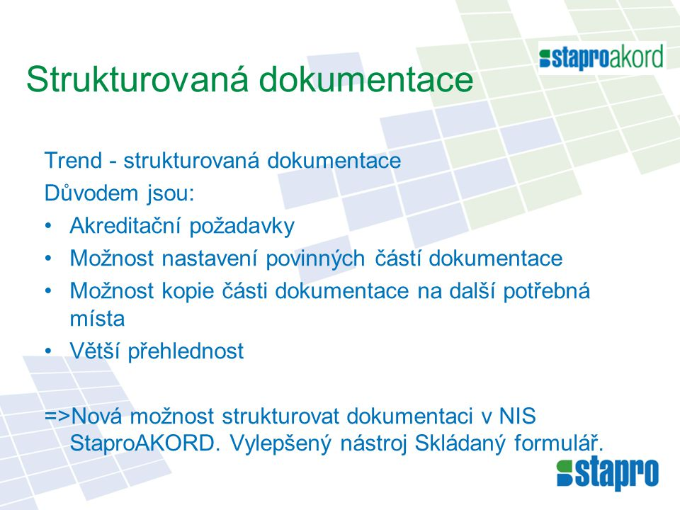 Strukturovaná dokumentace