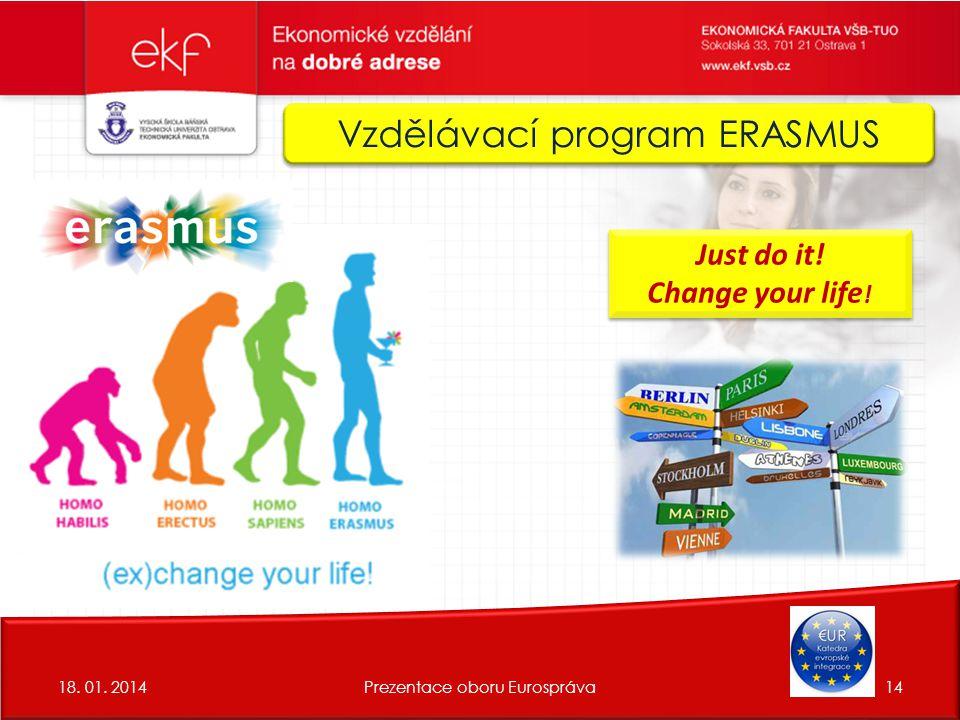 Vzdělávací program ERASMUS