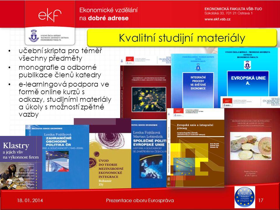 Kvalitní studijní materiály