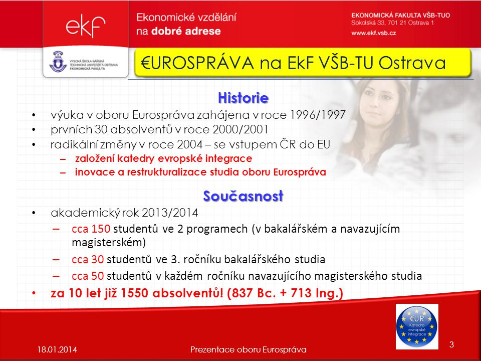 €UROSPRÁVA na EkF VŠB-TU Ostrava €UROSPRÁVA na VŠB-TU Ostrava