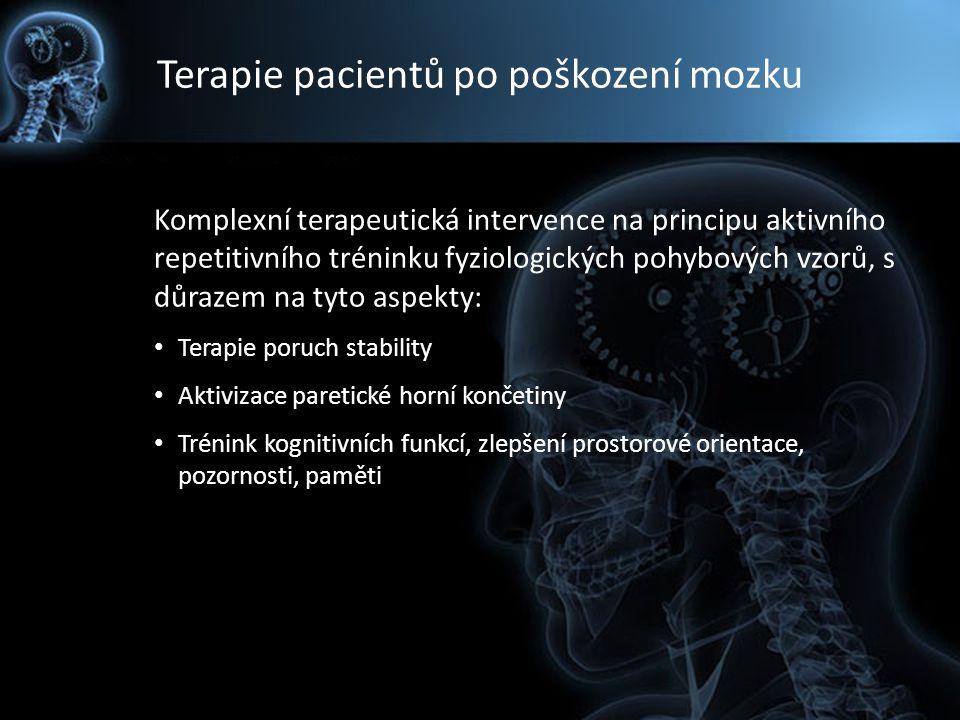Terapie pacientů po poškození mozku