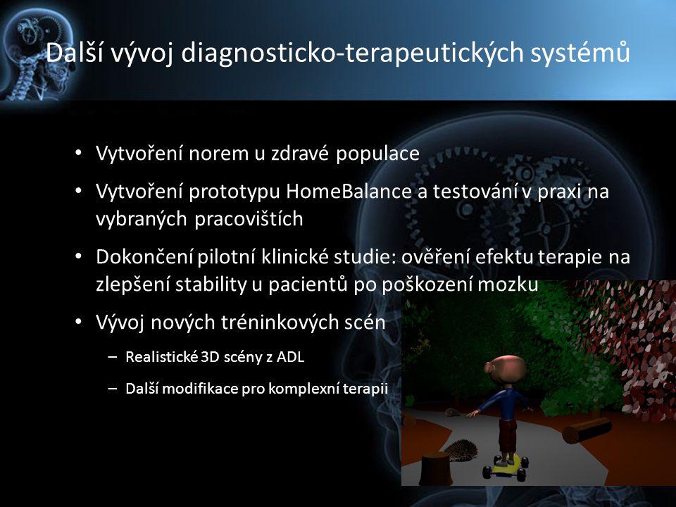 Další vývoj diagnosticko-terapeutických systémů
