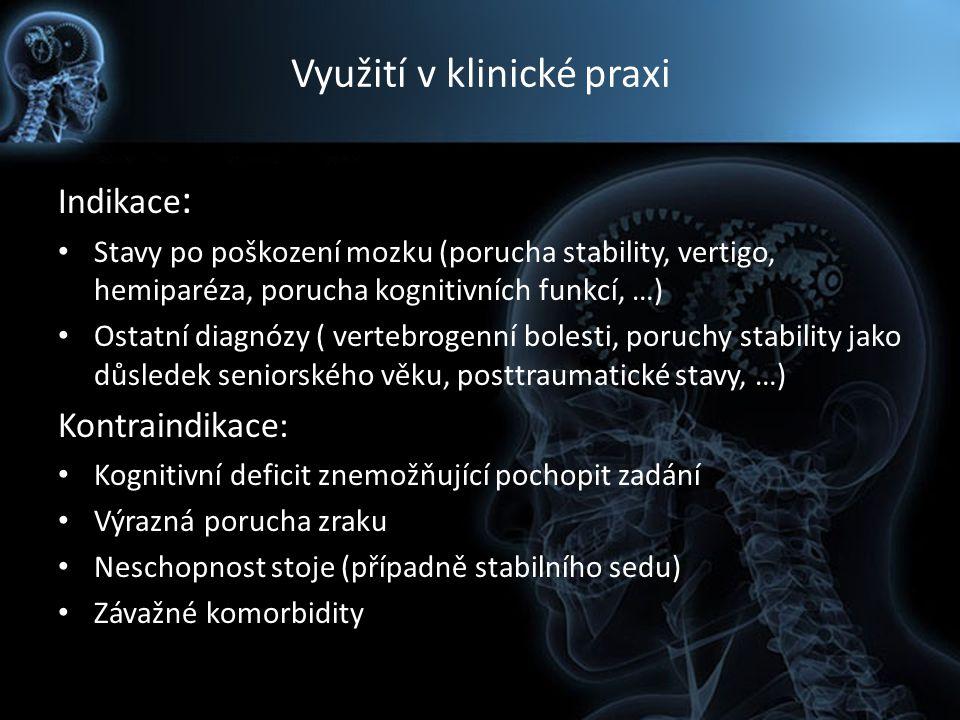 Využití v klinické praxi