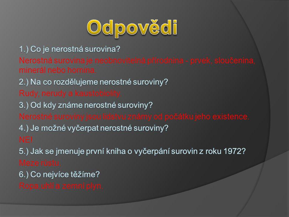 Odpovědi