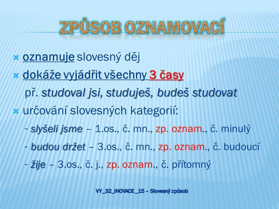 VY_32_INOVACE _15 – Slovesný způsob