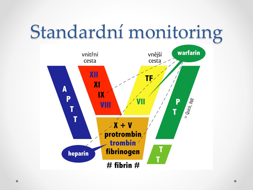 Standardní monitoring