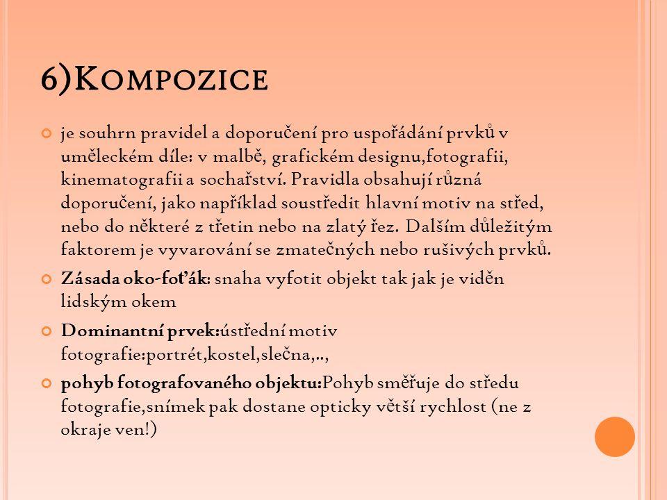 6)Kompozice
