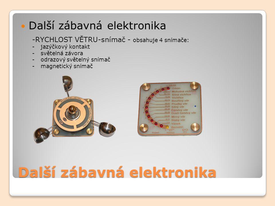 Další zábavná elektronika