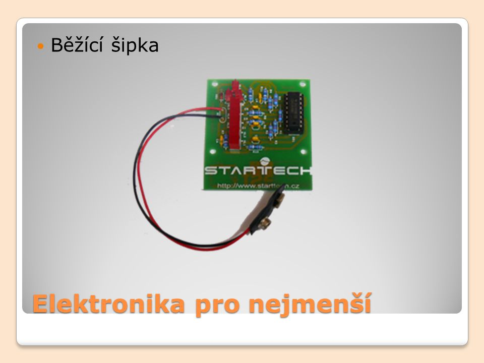 Elektronika pro nejmenší