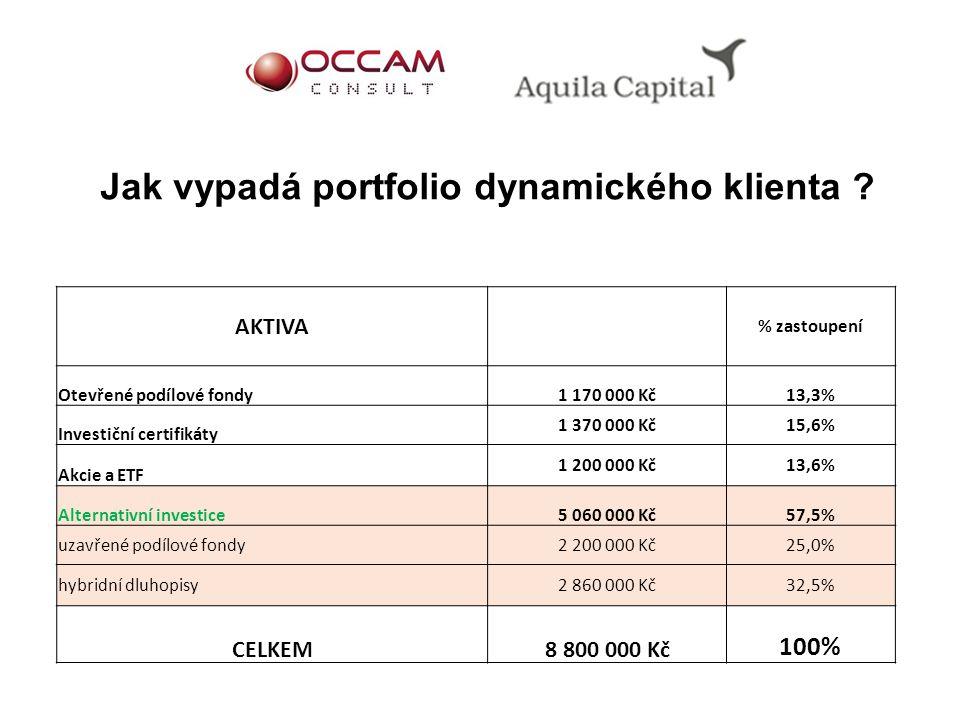 Jak vypadá portfolio dynamického klienta